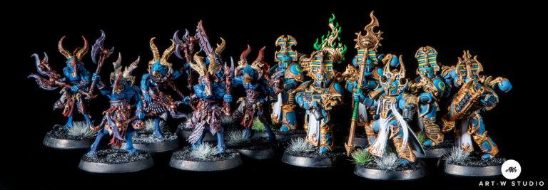 warhammer 40k kill team thousand sons mil hijos pintor pintado pintura miniaturas gw gamesworkshop art-wstudio artwstudio art w studio romuald fons dreadnought minis painting encargo estudio