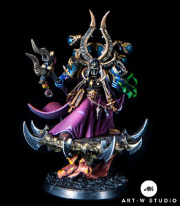 warhammer 40k ahriman thousand sons pintor pintado pintura miniaturas gw gamesworkshop art-wstudio artwstudio art w studio romuald fons dreadnought minis painting encargo estudio