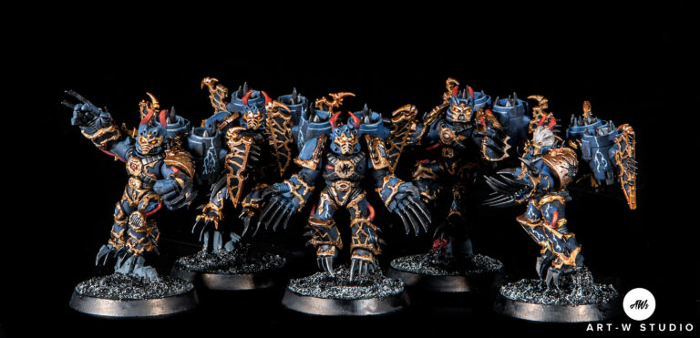 warhammer 40k night lords warp talon pintor pintado pintura miniaturas gw gamesworkshop art-wstudio artwstudio art w studio romuald fons dreadnought minis painting encargo estudio